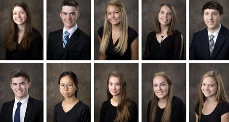 STA Announces its Top Ten Students