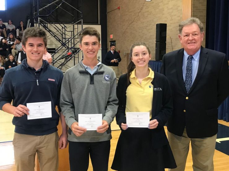 Saints Named as Commended Scholars